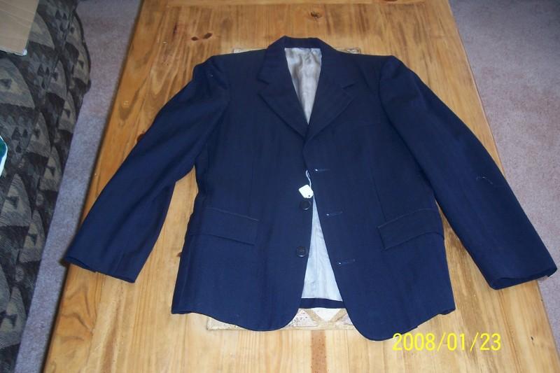 Lot 104- Navy Blue Elite English Jacket $ 30.00